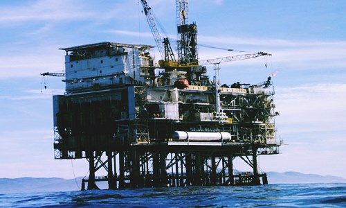 oil and gas giant major gas well offshore