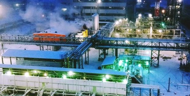 UCC Shchekinoazot completes test run for new chemical production unit